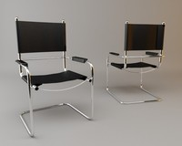 armchair italian style 3d 3ds